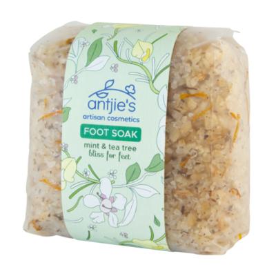 Foot soak 500g mint and tea tree