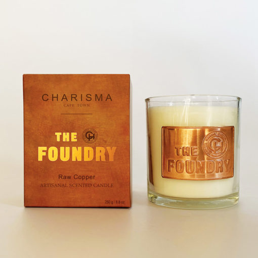 The foundry luxury scented candle
