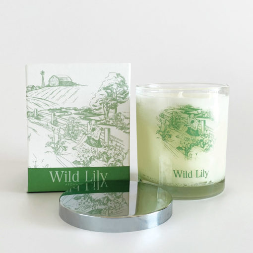Wild Lilly Soy Candle