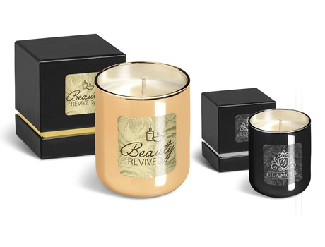 Romance scented candle in glass tumbler